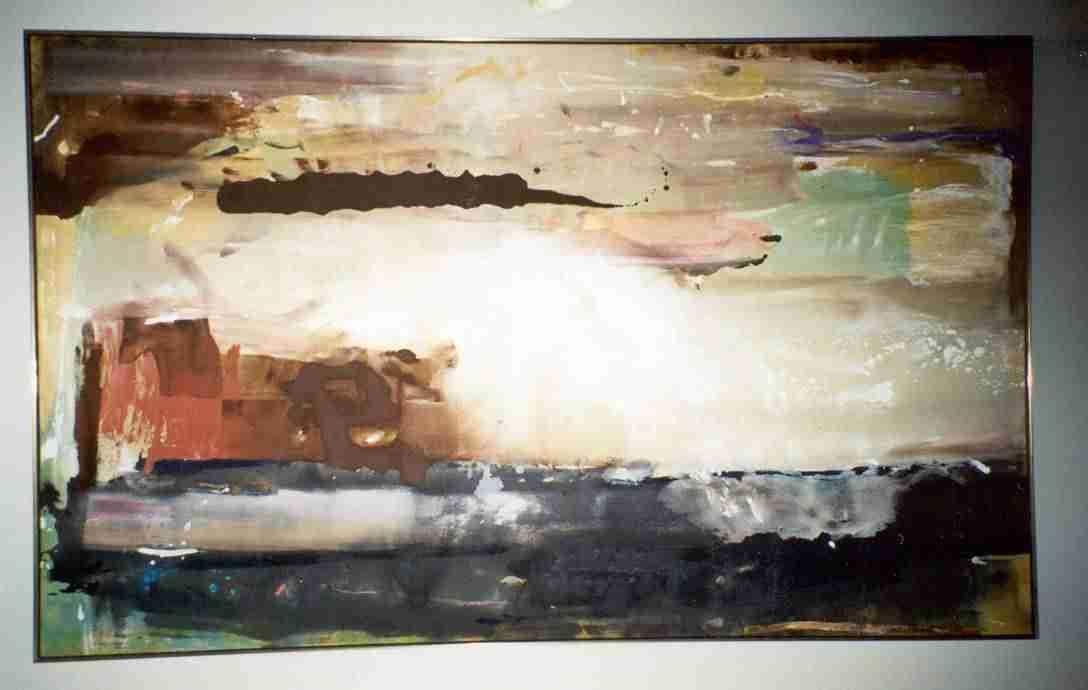 Artist Helen Frankenthaler's Work.