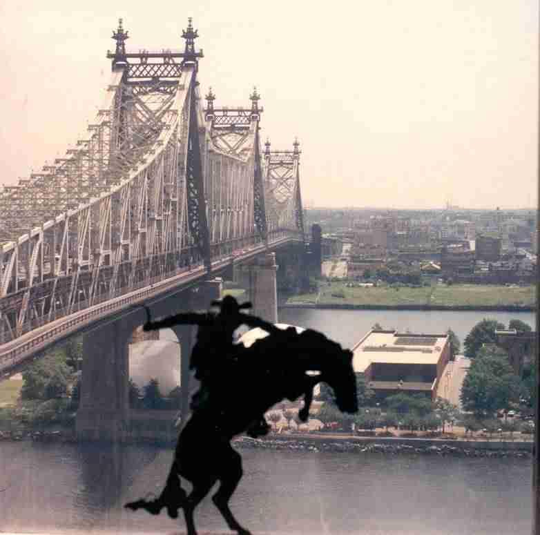 Clear View of the 59th Street Bridge , Manhattan