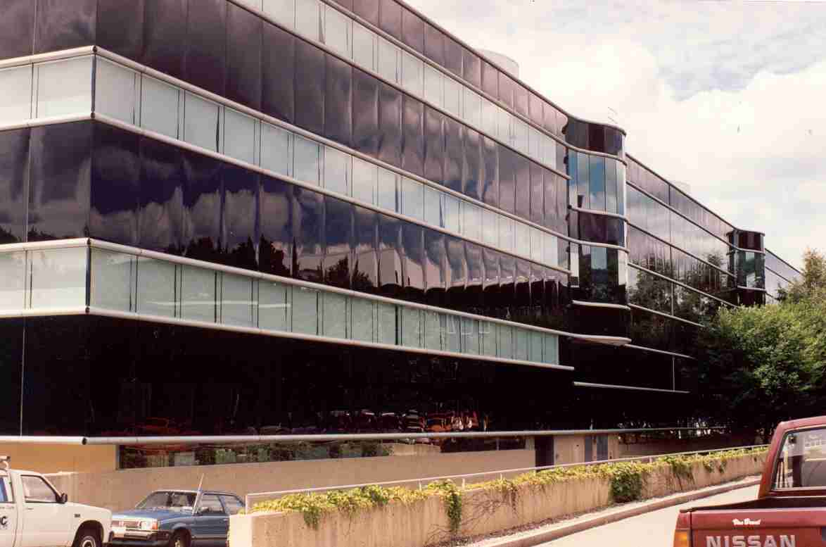 Corning HQ Before Window Film