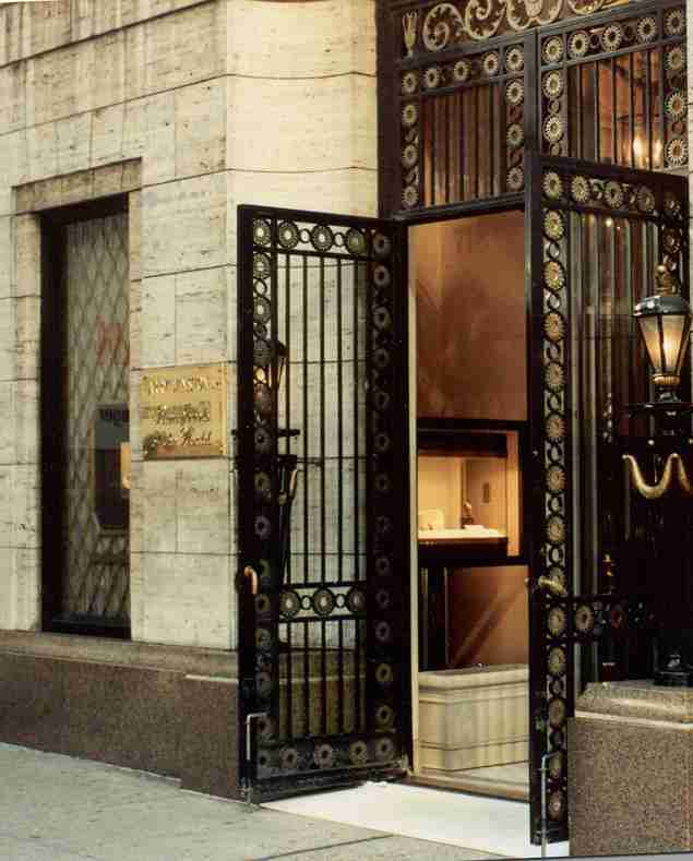 Harry Winston Jewelers, NYC -Protected by SECS
