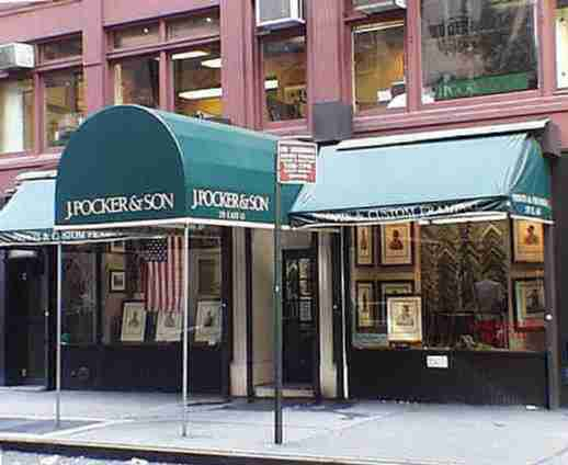 J. Pocker & Son, Inc., E. 63rd & Lexington, NYC